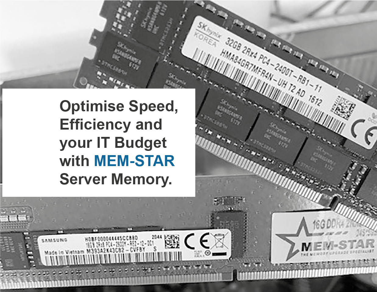Optimise Speed & Efficiency with Mem-Star Server Memory